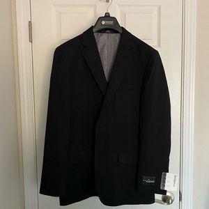 Black Tailored Fit Blazer